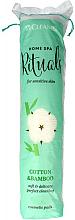 Парфюми, Парфюмерия, козметика Козметични памучни тампони, 120бр - Cleanic Home Spa Cotton & Bamboo