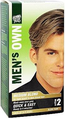 Боя за коса за мъже - Henna Plus Men Own Hair Colouring