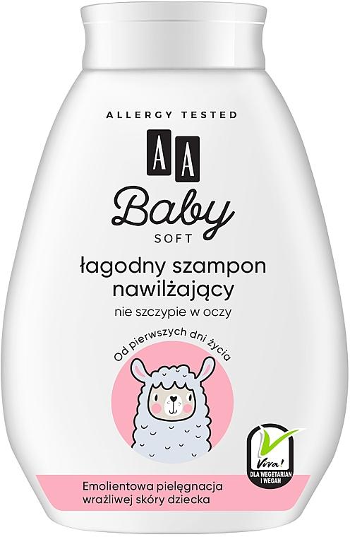 Детски хидратиращ шампоан за коса - AA Baby Soft