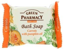 """Парфюми, Парфюмерия, козметика Сапун """"Моркови с тиквено масло"""" - Green Pharmacy"""
