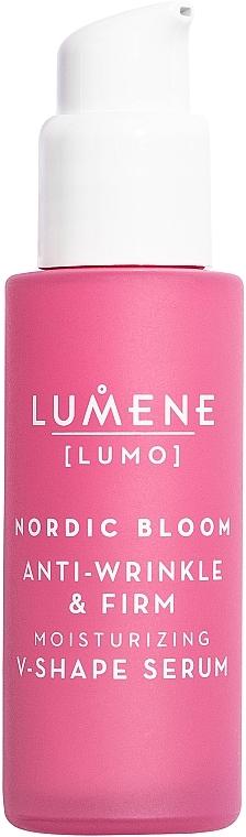 Стягащ серум за лице против бръчки - Lumene Lumo Nordic Bloom Anti-wrinkle & Firm Moisturizing V-Shape Serum