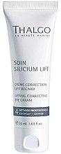 Парфюмерия и Козметика Коригиращ лифтинг крем за околоочна зона - Thalgo Silicium Regard Eye Cream