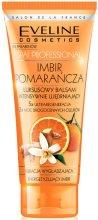 Парфюмерия и Козметика Интензивно укрепващ балсам за тяло с екстракт от джинджифил и портокал - Eveline Cosmetics Spa Prof