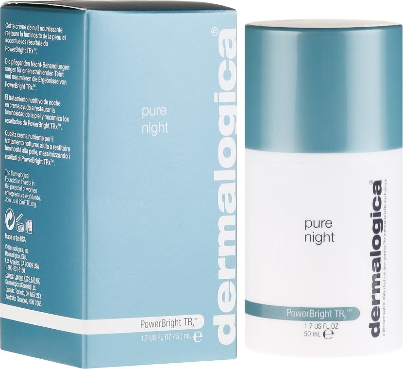 Богат нощен озаряващ крем за лице - Dermalogica PowerBright TRx Pure Night — снимка N1
