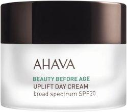 Парфюмерия и Козметика Дневен лифтинг крем с широк спектър на действие SPF20 - Ahava Beauty Before Age Uplifting Day Cream SPF20