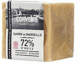 "Парфюмерия и Козметика Сапун ""Чисто"" - La Corvette Savon de Marseille Extra Pur"