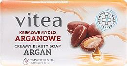 Парфюми, Парфюмерия, козметика Крем сапун с арганово масло - Vitea Cream Argan Soap