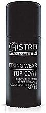 Парфюмерия и Козметика Фиксиращ топ лак - Astra Make-up Fixing Wear Top Coat