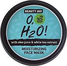 Парфюмерия и Козметика Хидратираща маска за лице - Beauty Jar O,H2O Moisturizing Face Mask