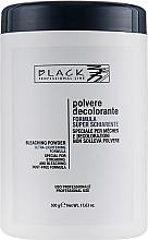 Парфюмерия и Козметика Изсветляваща пудра за коса, синя (бурканче) - Black Professional Line Bleaching Powder Blue