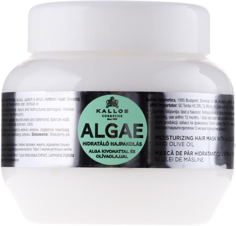 Маска за коса с екстракт от водорасли и маслиново масло - Kallos Cosmetics Algae Mask