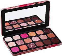 Парфюмерия и Козметика Палитра сенки за очи, 18 цвята - Makeup Revolution Forever Flawless Palette