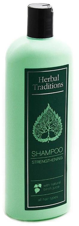 Укрепващ шампоан с брезов сок - Herbal Traditions Shampoo Strengthening With Natural Birch Juice
