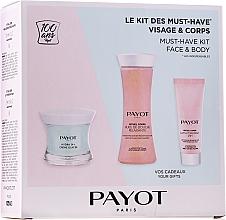 Парфюмерия и Козметика Комплект - Payot Hydra 24+ Must-Have Kit Face & Body (крем за лице/50ml + душ масло/125ml + лос. за тяло/25ml)