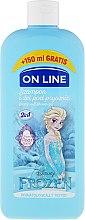 "Парфюмерия и Козметика Шампоан-душ гел за деца ""Frozen"" - On Line Disney Frozen Shampoo & Body Wash"