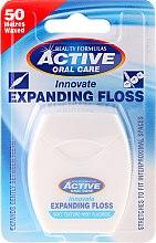 Парфюмерия и Козметика Мек зъбен конец с мента - Beauty Formulas Active Oral Care Expanding Floss Mint With Fluor 50m