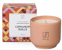"""Парфюмерия и Козметика Соева свещ """"Канелена кифличка"""" - Mys Cinnamon Rolls Candle"""