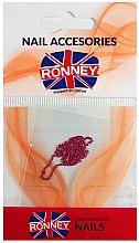 Парфюми, Парфюмерия, козметика Синджирче за нокти, 00378, златисто-розово - Ronney Professional