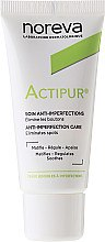 Матиращ крем за лице - Noreva Actipur Anti-Imperfections Matifying Cream — снимка N2
