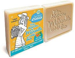 Парфюмерия и Козметика Комплект сапуни - Secrets De Provence My Marseille Soap Melon-Mint (2x100g)