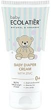 Парфюмерия и Козметика Детски крем против подсичане с цинк - Ecolatier Baby Diaper Cream With Zinc