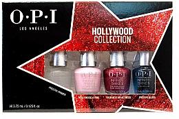 Парфюмерия и Козметика Комплект лакове за нокти - O.P.I Infinite Shine 2 Hollywood Collection Spring 2021 Mini Set