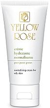 Парфюмерия и Козметика Балансиращ дневен крем за мазна кожа - Yellow Rose Creme Hydratante Normalisante