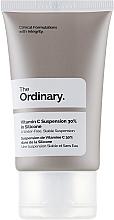 Парфюмерия и Козметика Серум за лице с витамин С - The Ordinary Vitamin C Suspension 30% In Silicone