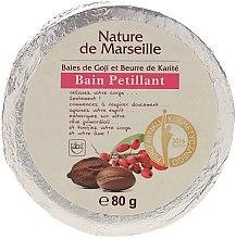 Парфюми, Парфюмерия, козметика Бомбичка за вана с аромат на годжи бери и масло от шеа - Nature de Marseille Goji&Shea Butter