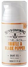 Парфюмерия и Козметика Гел за бръснене - Scottish Fine Soaps Men's Grooming Thistle & Black Pepper Shaving Gel