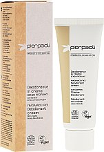 Парфюмерия и Козметика Крем-дезодорант - Pierpaoli Prebiotic Collection Cream Deodorant