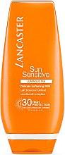 Парфюмерия и Козметика Слънцезащитно мляко за тяло - Lancaster Sun Sensitive Delicate Soothing Milk SPF30