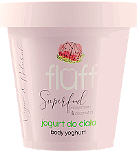 """Парфюмерия и Козметика Йогурт за тяло """"Диня"""" - Fluff Body Yogurt Watermelon"""