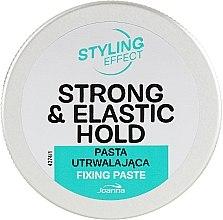 Парфюмерия и Козметика Моделираща паста за коса с масло от шеа - Joanna Styling Effect Strong & Elastic Hold Fixing Paste