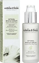 Парфюмерия и Козметика Серум за лице - Estelle & Thild BioCalm Optimal Rescue Serum
