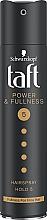 Парфюмерия и Козметика Лак за коса с кератин, мега фиксация - Schwarzkopf Taft Power & Fullness Hairspray