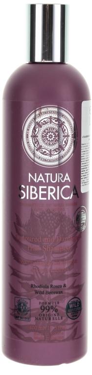 """Шампоан за боядисана и увредена коса """"Защита и блясък"""" - Natura Siberica — снимка N1"""
