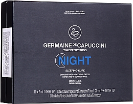 Парфюмерия и Козметика Нощен комплекс за лице - Germaine de Capuccini Timexpert SRNS Night Sleeping-Cure