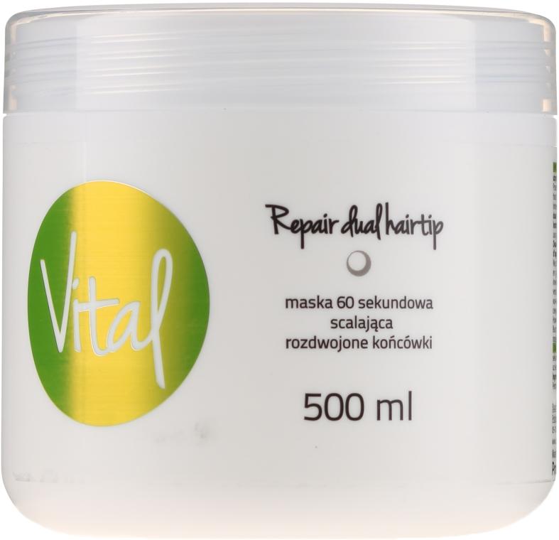 Възстановяваща маска за коса за 60 секунди - Stapiz Vital Repair Dual Hairtip 60s Mask
