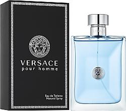Парфюмерия и Козметика Versace Versace Pour Homme - Тоалетна вода