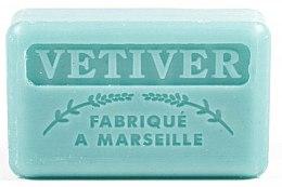 Парфюмерия и Козметика Марсилски сапун с ветивер - Foufour Savonnette Marseillaise Vetiver