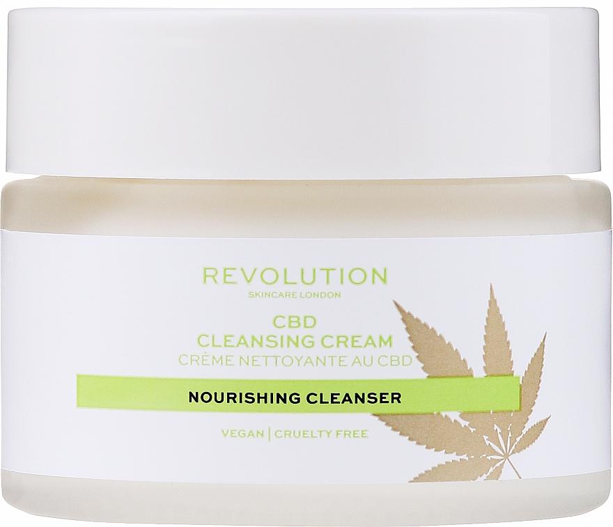 Почистващ крем за лице - Revolution Skincare CBD Cleansing Cream — снимка N2