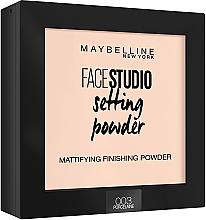 Парфюми, Парфюмерия, козметика Фиксираща пудра за лице - Maybelline Facestudio Setting Powder