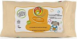 Парфюми, Парфюмерия, козметика Детски мокри кърпички с екстракт от лайка и невен - Ekos Baby