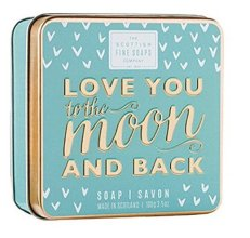 Парфюмерия и Козметика Сапун - Scottish Fine Soaps Love You To The Moon And Back Soap In A Tin