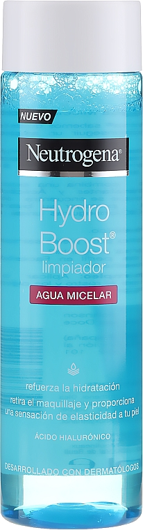 Мицеларна вода - Neutrogena Hydro Boost Cleanser Micellar Water — снимка N1