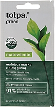 Парфюмерия и Козметика Матираща маска за лице - Tolpa Green Mask