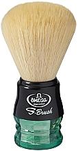 Парфюмерия и Козметика Четка за бръснене, S10077, зелена - Omega
