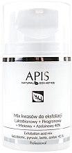 Парфюмерия и Козметика Киселинна смес за пилинг - APIS Professional Lacticion + Pirogron + Milk + Azelaine 40%