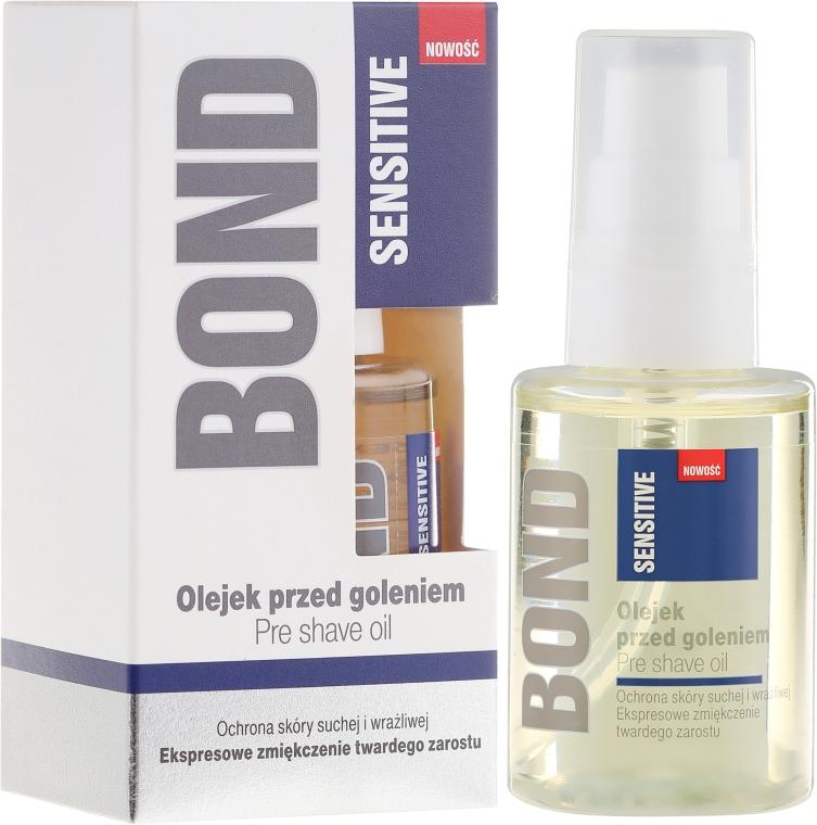 Олио преди бръснене - Bond Sensitive Pre Shave Oil